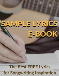Free lyrics to help songwriters
